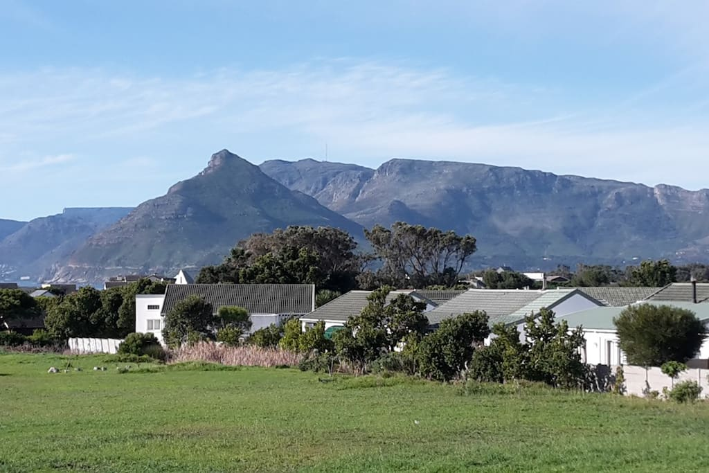 View of Chapman's Peak and Table Mountain