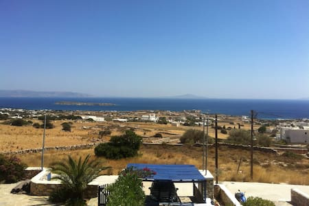 Cycladic villa with view to the sea - Aspro Chorio - Ház