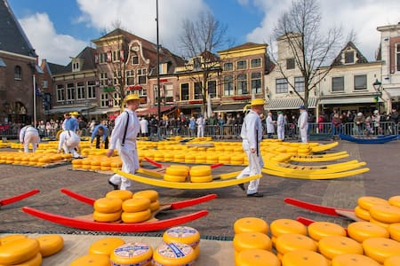 At the Cheese Market - Alkmaar - Lyxvåning