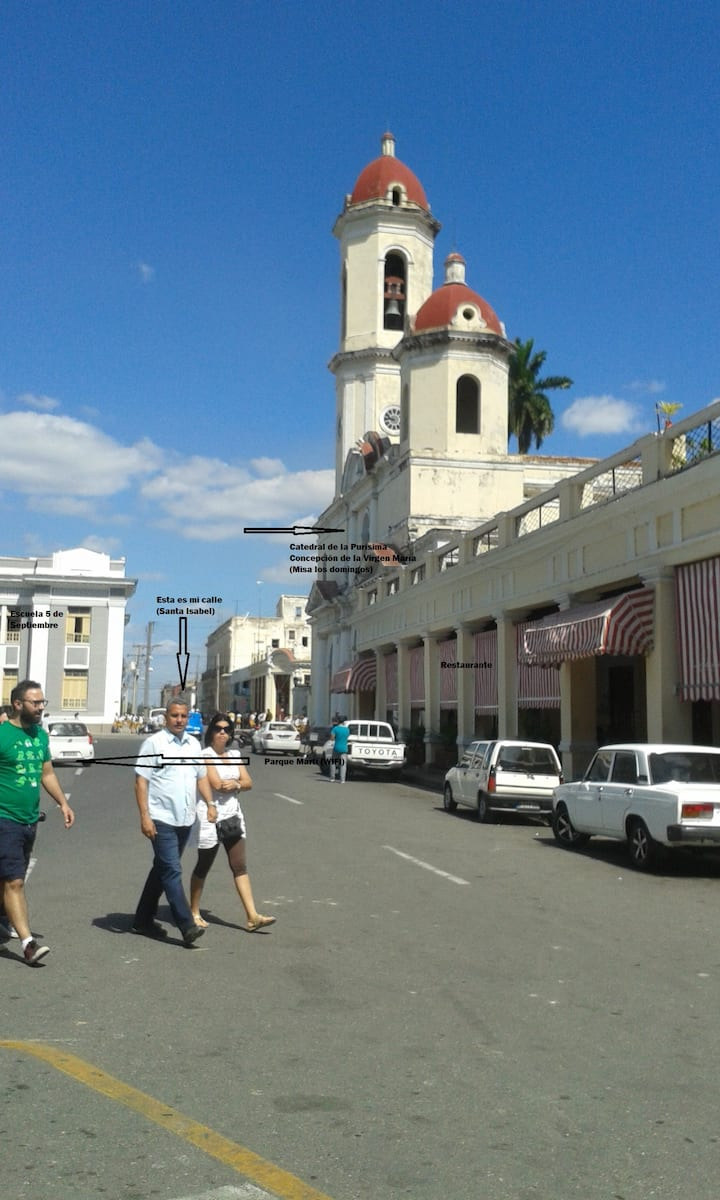 Hostal Olguita en el Centro Histórico