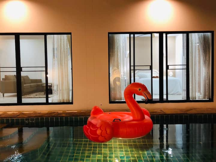 Pool Villa Pattaya near private beach 2Bedrooms