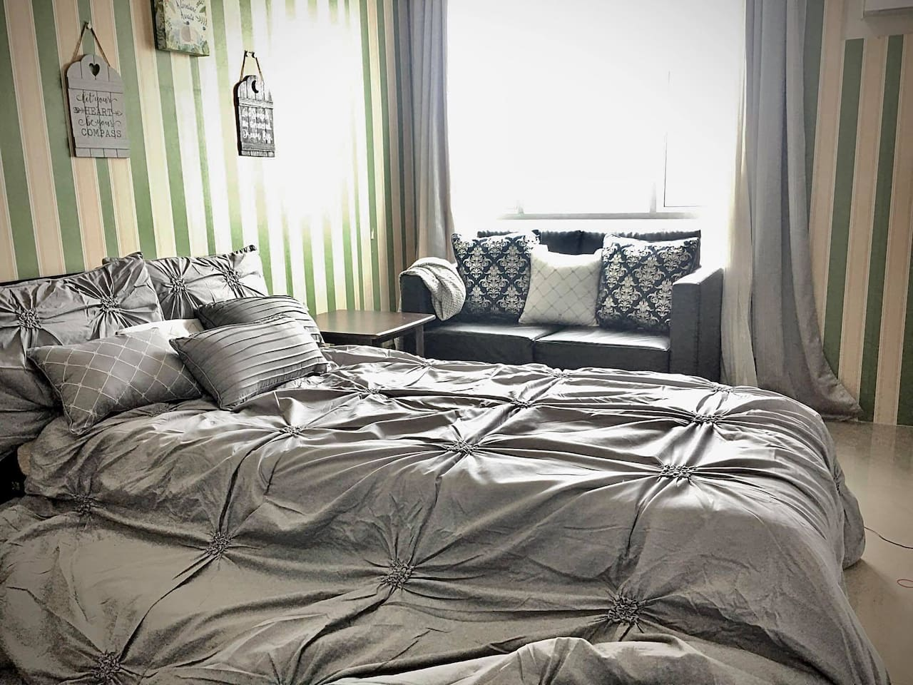 We use u.s. comfy beddings. Rest and relax luxuriously...
