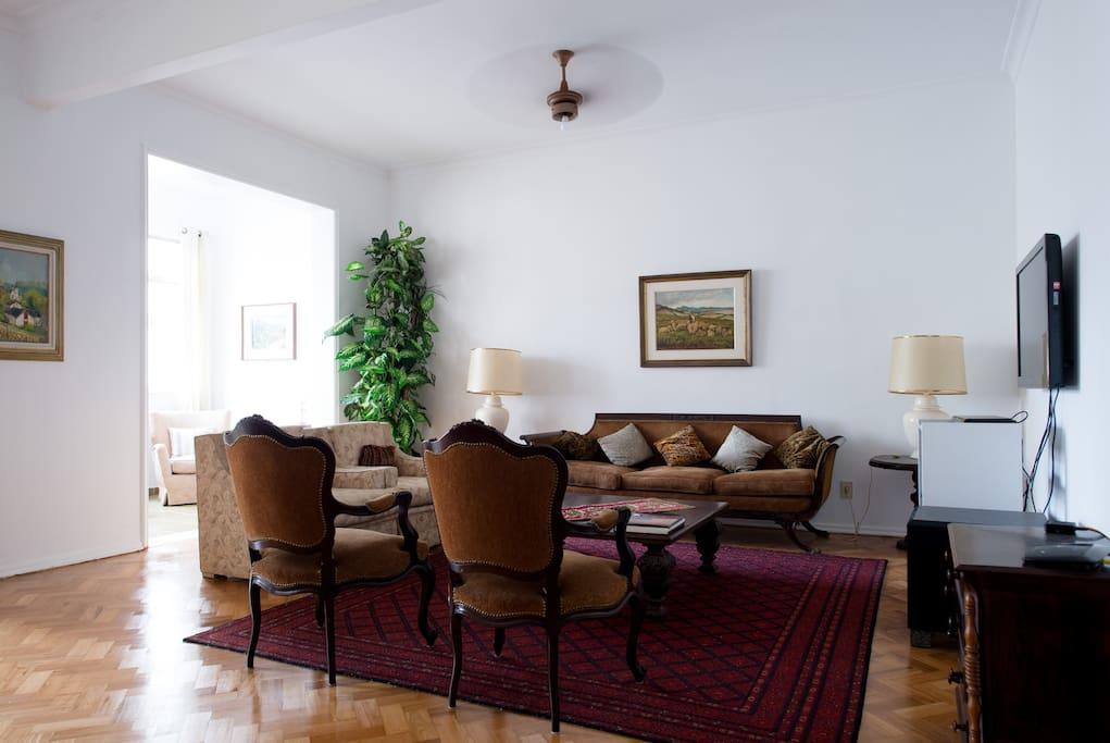 Visao do Living Room
