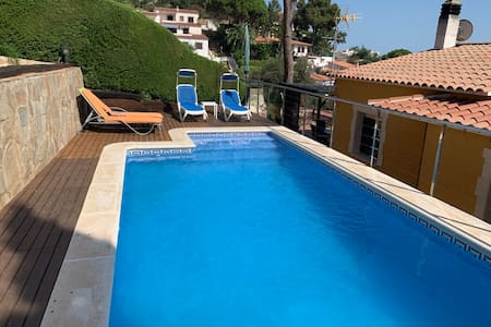 House with private pool in Rosamar - Costa Brava