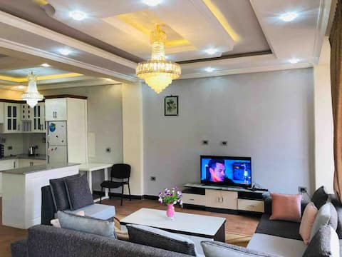 Fully furnished, clean two bedroom apartment