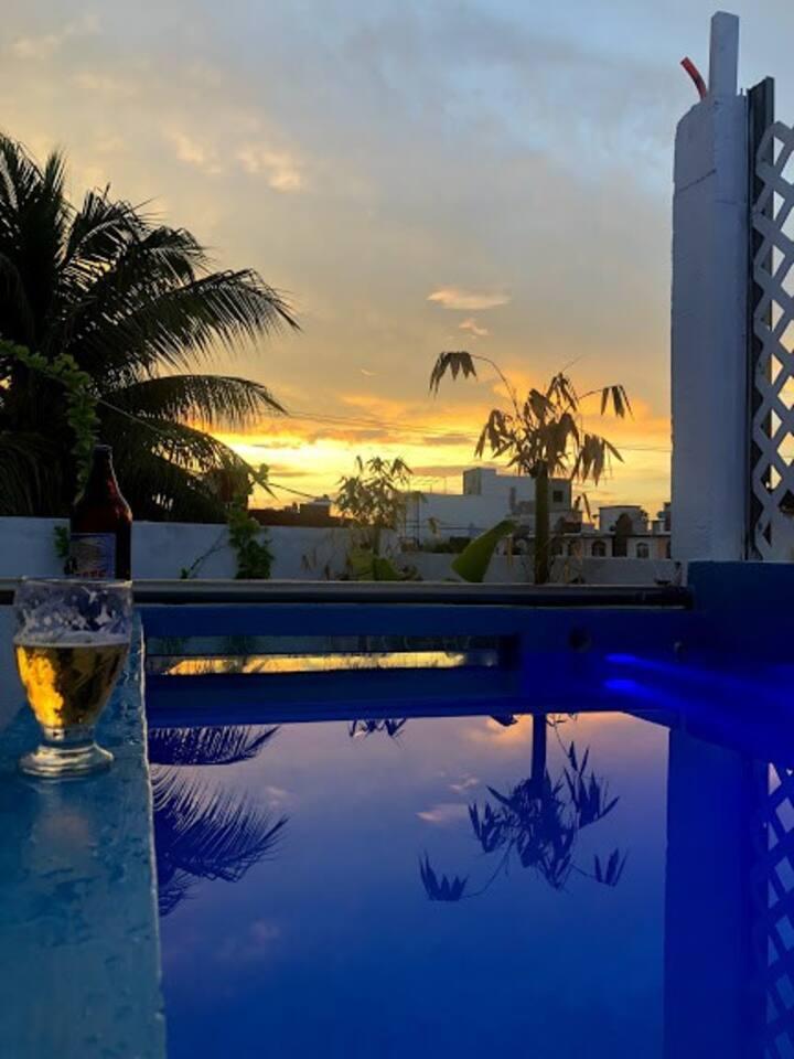 Casa con vistas en Cancún