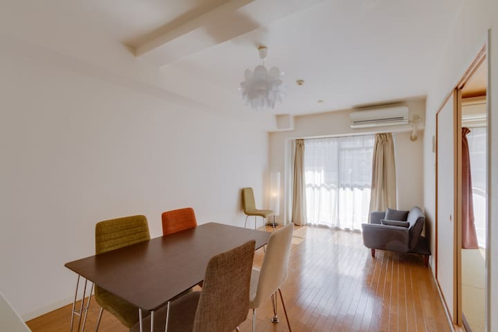 Spacious room 65 ㎡!Near Shin-osaka☆ - 大阪市淀川区 - Flat
