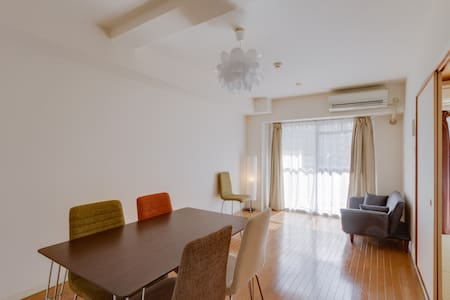 Spacious room 65 ㎡!Near Shin-osaka☆ - 大阪市淀川区 - Apartamento