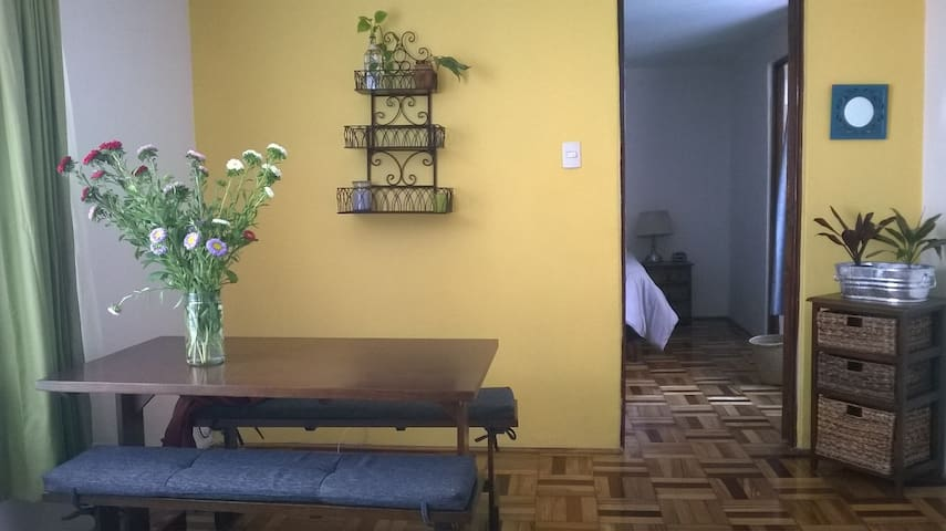 Cozy apartment for business people and couples - Ciudad de México - Apartemen