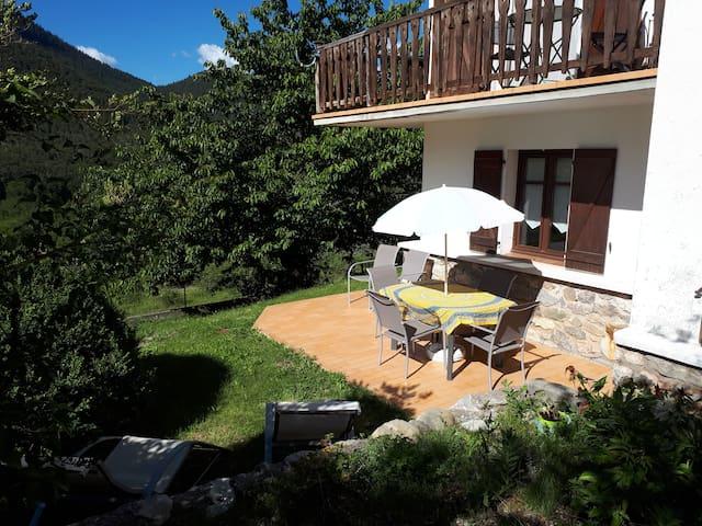 Appartement chalet La Roche Valdeblore Mercantour
