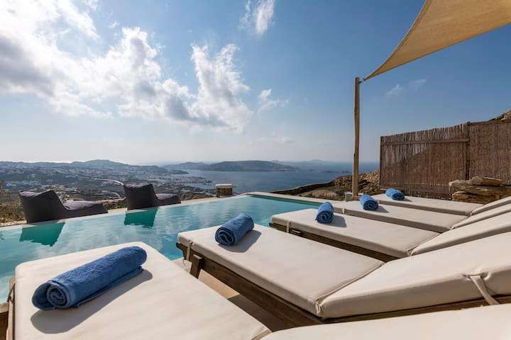 Mykonos Divino 2 bd Sea View Villa - private pool