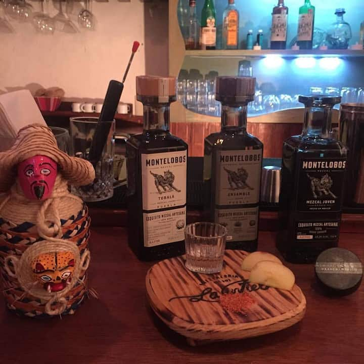 We offer some of the best mezcals in MX