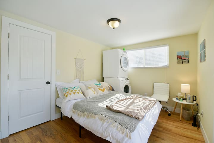 Cozy suite in the beautiful RINO district!