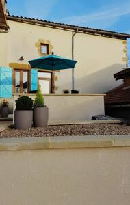 Le Petit Bijou Pressac Sleeps 4+ sun terrace