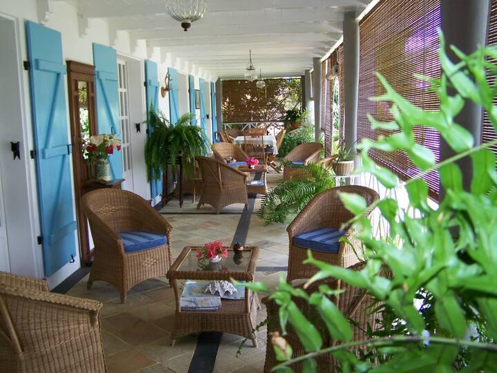 Maison Papaye chambre Chamarel