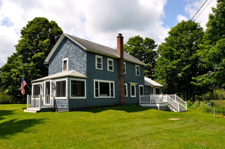 Magical Berkshires Farmhouse on 18 Glorious Acres!