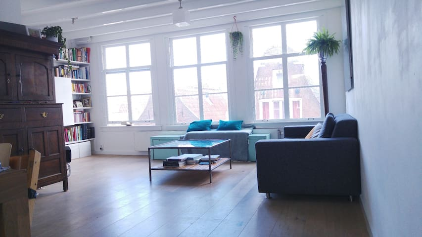 Historic apt in Jordaan/city centre - Amsterdam - Apartment
