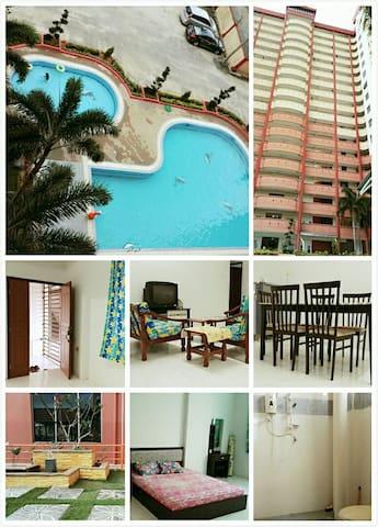 Pangsapuri Maharani (Muar) 3R2B - Muar - Lägenhet