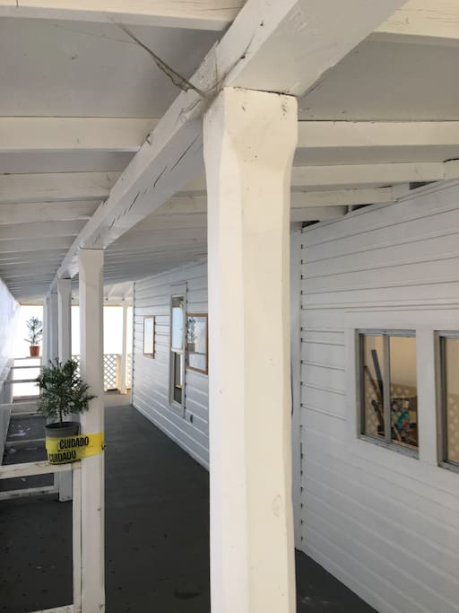 292 SE Pine has a large entertainment veranda for group events