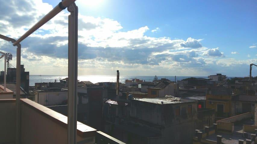 Accogliente Bilocale Panoramico - Santa Teresa di Riva - Apartment