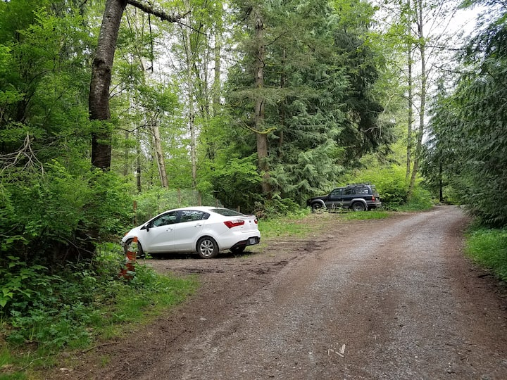 Park and Camp in Your Vehicle - Near Seattle