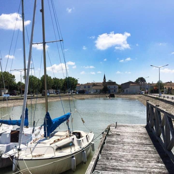 Vacances et Liberté entre Marais et Marées