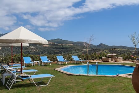 웃 【 Near the beach】Triopetra Luxury Villa - Triopetra