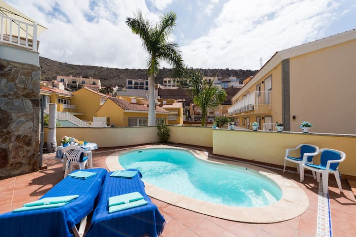 Your private pool-sunny-relaxing - April-offer - Arguineguin - Apartamento