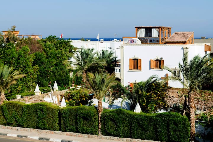 Villa with swimming-pool- perfect holiday in Dahab