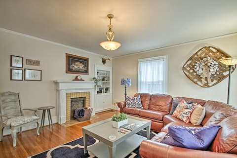 Central Wadesboro Home - Walk to Downtown Shops!