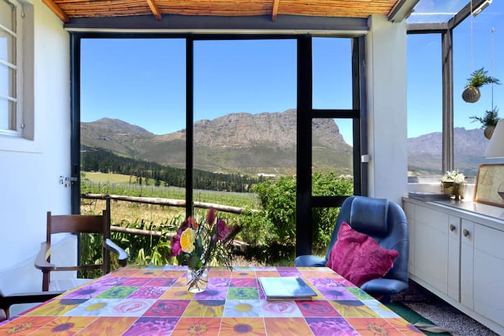 Pinotage Cottage, Courchevel Farm, Franschhoek