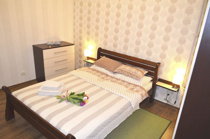 Cute & cozy central 1-bedroom apt on Rynok Square