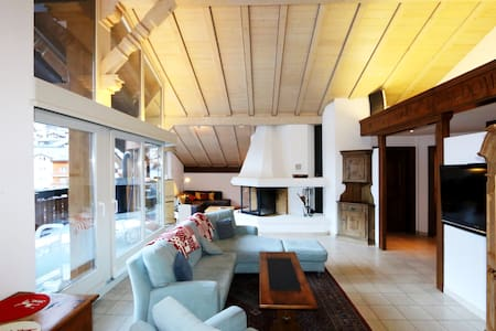 Chic Penthouse Apartment in Saas-Fee - Saas-Fee