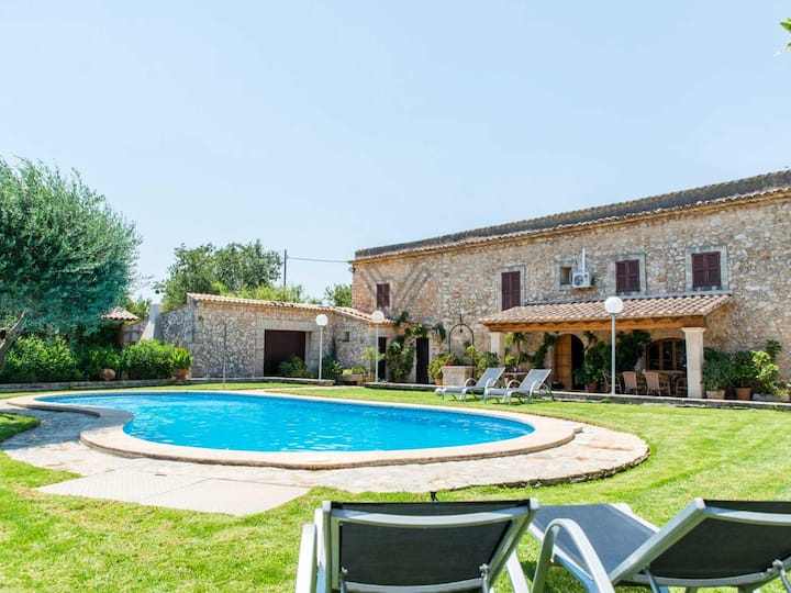 Cas Home,Finca with tennis court in Búger, Mallorca