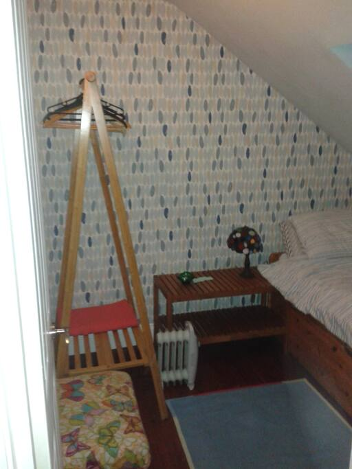 A hanging rail