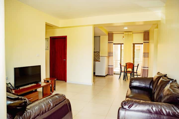 Superb apartment full furnished and pleasant.