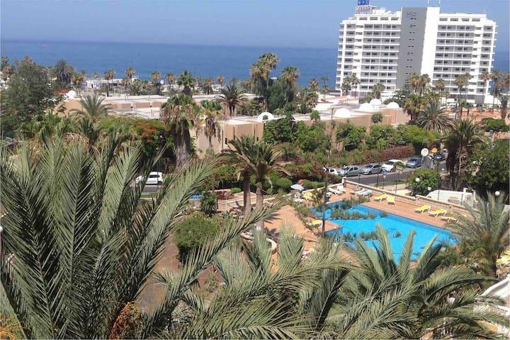 Appartement Playa Americas met zeezicht