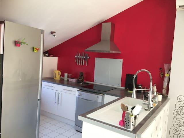 Appartement cosy et ensoleillé proche d'Avignon - Pernes-les-Fontaines - Apartemen
