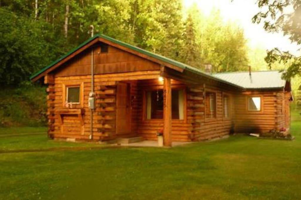 Original log homestead