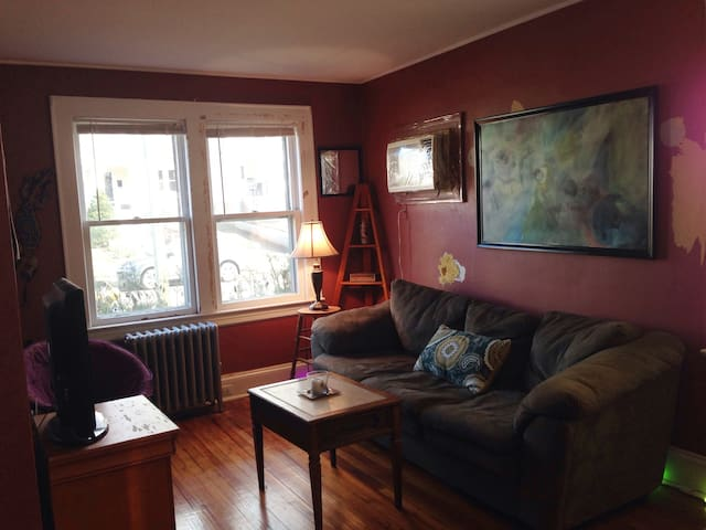 Charming Flat in Tranquil Neighborhood - Glen Rock - Huis