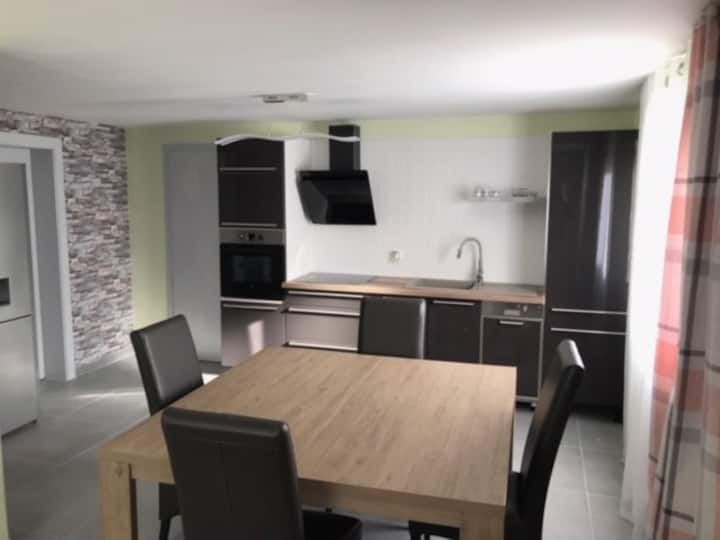 Appartement entièrement équipé à 10 mn de Belfort