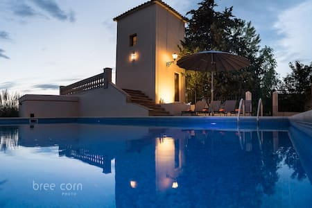RUSTIC VILLA WITH SWIMINGPOOL and AIRCONDITIONING - Montuïri
