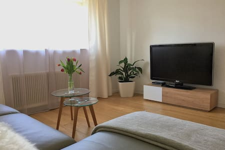 Charming apartment with private garden area - Hohenweiler - Lejlighed
