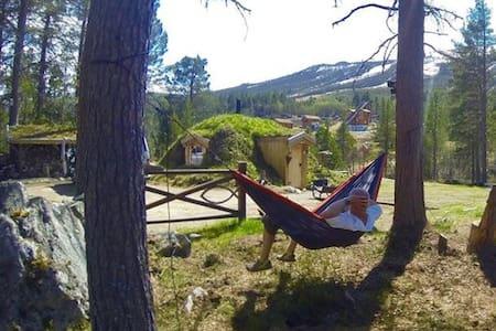 Unik Hobbit Cabin