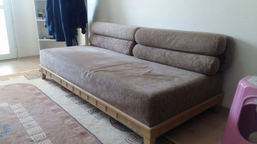 Have a couch over here...