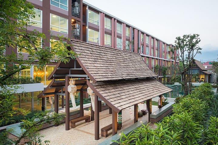 Lanna Villa Apartment middle of city 5 person max