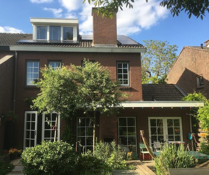 House with garden in hills near Maastricht