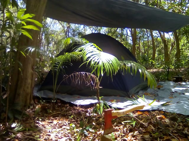 Camping @ Eco Camp Barbados (2)