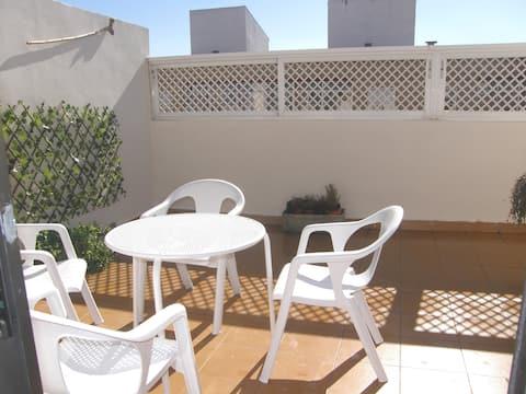 Grand PENTHOUSE avec terrasse de 10'du PILIER de Saragosse