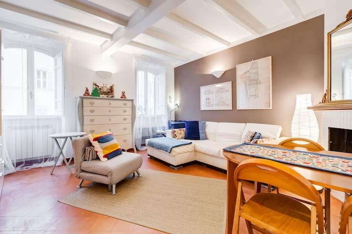 Apartment in Campo de Fiori with Wi-Fi and Netflix